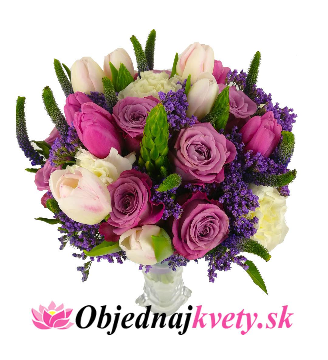 93fca226c Svadobná kytica Purple   Objednaj kvety