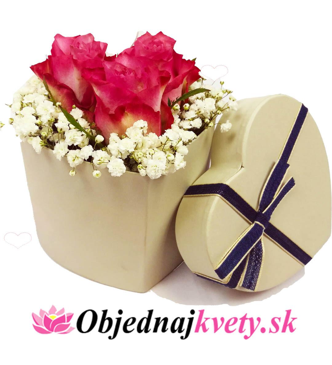 b45d84662 Box (srdce) | Objednaj kvety