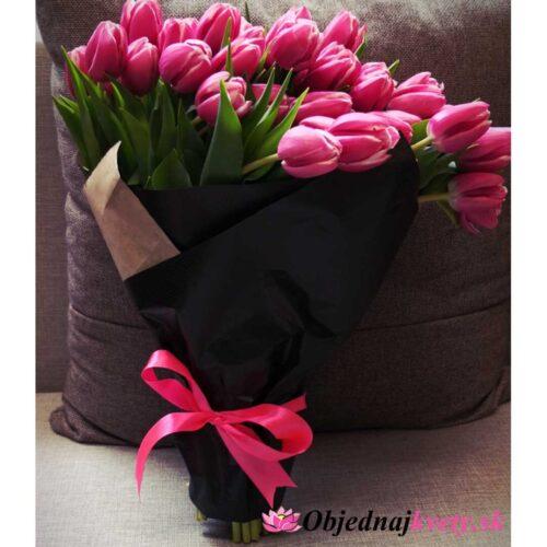ružové tulipany
