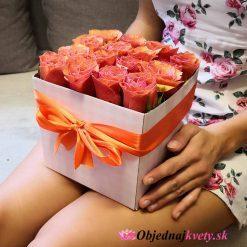 donáška kvetov flower box