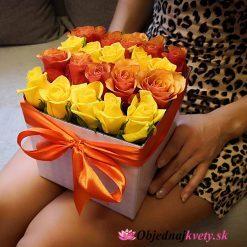 kvetinovy box na donášku mix