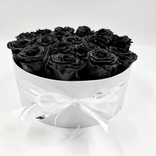 Čierne stabilizované ruže