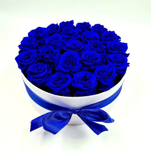 modré stabilizované ruže