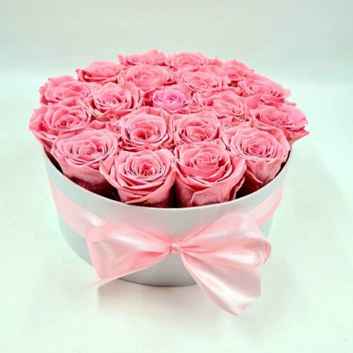 ružové stabilizované ruže